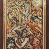 Gyula Graf Batthyány (1887 Ikervár - 1959 Budapest) Flamencotänzerinnen Mindestpreis:24.000 EUR