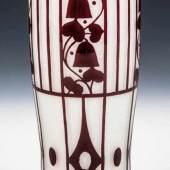 Bedeutende Vase Josef Hoffmann (Entwurf), Loetz Wwe., Klostermühle, Schätzpreis:5.000 - 7.000 EUR