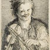 Martin Johann Schmidt, genannt Kremser Schmidt Geigender Knabe, um 1762, Aufrufpreis:1.500 EUR