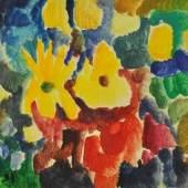 """SPROTTE Siegward (1913 Potsdam - 2004 Kampen) """"Blumen"""" Mindestpreis:2.000 EUR"""