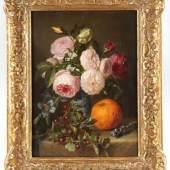 Haanen, Adriana 1814 Oosterhout - 1895 Oosterbeek Blumestillleben. Aufrufpreis:1.200 EUR