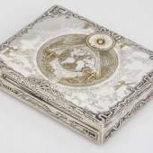 Dose von Max Kolb Silber 900. GetriebenAufrufpreis:1.200 EUR