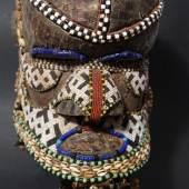Seltene Maske, DR Kongo Kuba H. 30 cm. Schätzpreis:2.000 EUR