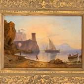 Carl Morgenstern (1811-1893), dt. Landschaftsmaler, stammte aus einer Künstlerfamilie, sein Vater Johann Friedrich Morgenstern war seit dem frühen 19. Jh. in Frankfurt als Architektur- und Landschaftsmaler ansässig. Mindestpreis:9.500 EUR