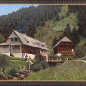 vDischler, Hermann Prof. 1866 Freiburg - 1935 Hinterzarten. Öl/Lw. Aus dem Schwarzwald.  Mindestpreis:2.800 EUR