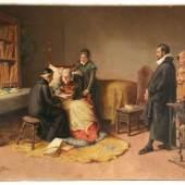 Oliva y Rodrigo, Eugenio ( 1852 Palencia - 1925 Villaconejos) Aufrufpreis:3.500 EUR