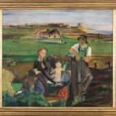 Alfred Partikel (1888 Goldap/Ostpreußen - 1945 Ahrenshoop) Kleiner Hausaltar. Schätzpreis:7.500 - 9.500 EUR