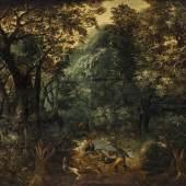 Govaerts, Abraham  1589 - 1626 Antwerpen. Wildschweinjagd mit Hunden im Wald. Govaerts, Abraham  1589 - 1626 Antwerpen. Wildschweinjagd mit Hunden im Wald.
