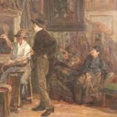 Runze, Wilhelm (1887 Frankfurt am Main -1973 ebd. Aufrufpreis:1.400 EUR