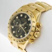 """Rolex-Armbanduhr """"Daytona Cosmograph"""" Gehäuse und Armband aus Gelbgold 750. Aufrufpreis:17.000 EUR"""