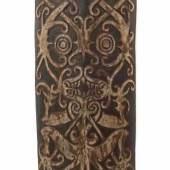 """Dayak-Schild """"kliau"""" Borneo, Volk der Kenyan oder Kayan, Mindestpreis:550 EUR"""