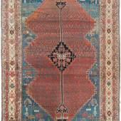 Bakhshayesh NW-Persien, um 1880. Sehr ausgefallenes Muster. Schätzpreis:6.000 - 8.000 CHF