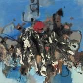 Tadeusz Kantor (Wielopole Skrzynskie, Polen 1915 - 1990 Krakau) Ohne Titel (Abstrakte Komposition), 1964, Schätzpreis:22.000 - 24.000 EUR