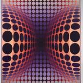 Vasarely, Victor. 1906 Pécs - Paris 1997 Circles. Wandteppich. Aufrufpreis:4.000 EUR