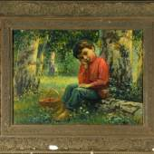 2118 Bogdanoff-Belsky, Nikolaj Petrovic, 1868 o. 1869 Sitiki - 1945 Berlin, Mindestpreis: 5000,-