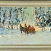 Winterowski, Leonard, 1886 - 1927 Öl/Lwd, 54 x 80 cm Mindestpreis:1.500 EUR