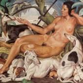 Norbertine Bresslern-Roth * Schätzpreis € 40.000 - 80.000 (Graz 1891 - 1978 Graz) Ruhende Diana, 1933
