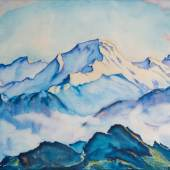 Lot 100 - Clara Porges, A View of the Jungfrau