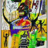 Lot 10 Jean-Michel Basquiat, Pyro, est. available upon request