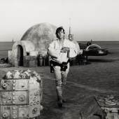 Lot 12  'Star Wars', Spiral bound album containing 52 original photographs, 1976 (est. £6,000-9,000) (3)