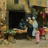 Lot 12 Von Ambros, The Baker's Shop, Cairo