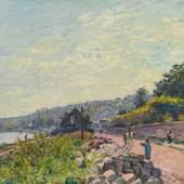 Lot 174 Alfred Sisley La Seine au bas-Meudon c. 1878-9 Oil on canvas est. $600,000-800,000 sold: $1,004,000
