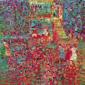 Lot 1 - Reza Derakshani, Garden Party, 2017, oil on canvas, 198x178 cm