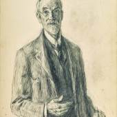 Lot 1 John Butler Yeats, Self-Portrait, est. £3,000-5,000