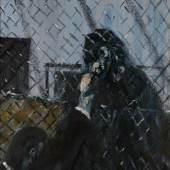 Lot 23 Francis Bacon. Figure with Monkey, Est. £1,800,000 - 2,500,000.