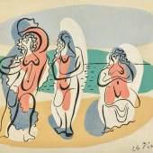 Lot 23 Pablo Picasso, Trois Baigneuses, oil on canvas, 1924 (est. £800,000-1,200,000)