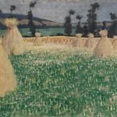 Lot 25 - Félix Vallotton - Les blés, Arques-la-Bataille, 1903