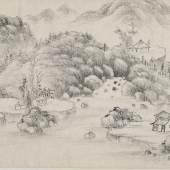 Lot 277 - Zwei Landschaften im Stil der Yuan-Zeit