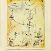 Lot 317 Paul Klee, The Strong P'rrrsch (est. £200,000-300,000)