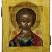Lot 340: Christus Emmanuel, Russland, um 1800, Erlös 7.600* Euro  Lot 470: Seltenes Tintenfass, Moskau, Fabergé, 1908 – 1917, Erlös