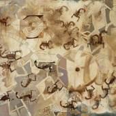 Lot 361 Francisco Toledo Meu Xubi 1973 Oil and sand on canvas est. $700,000-900,000 sold: $1,040,000