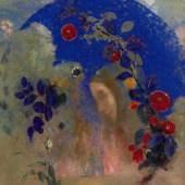 Lot 42 Provenant d'une collection particulière du sud-ouest de la France ODILON REDON (1840 – 1916) Profil sous une arche Signed ODILON REDON (lower left) Pastel on paper Executed circa 1905 Estimate: 250 000 – 350 000 €