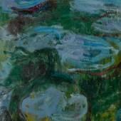 Lot 436 Claude Monet Nymphéas (Fragment) Oil on canvas est. $600,000-800,000 sold: $2,480,000