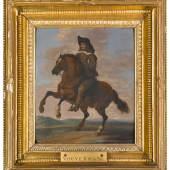 Lot 458 Pauwels van Hillegaert, Equestrian portrait