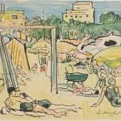 Lot 9 George Leslie Hunter, In Nice, est. £8,000-12,000