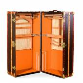 Lot 52 A Louis Vuitton Wardrobe Trunk