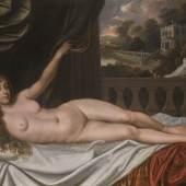Sir Peter Lely and Studio, Portrait of Elizabeth Trentham, Viscountess Cullen, as Venus (est. £100,000-150,000)
