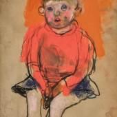 Lot 70 Eardley, Boy in a Red Jumper