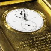 Nelson's Victory Watch for the Battle of Trafalgar to be auctioned at Sotheby's in July