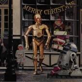 Lot 74 EMI Elstree Studios Christmas card and envelope, 1980 (est.£100-200)