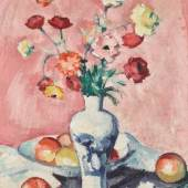 Lot 7 Samuel John Peploe, Carnations and Ranunculus, est. £250,000-350,000
