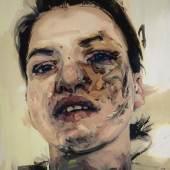 Lot 8. Jenny Saville, Shadow Head, 2007-13, oil on canvas, est. £3,000,000-5,000,000