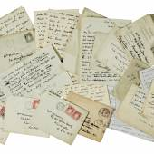 Lot 86, W.B. Olivia Shakespear letters