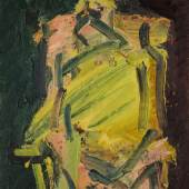 Lot 8 Frank Auerbach, 'Jake Seated', 2000, Estimate £300,000-500,000