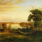 Louis Gurlitt, Blick von Stoefs auf die Hohwachter Bucht, um 1861, Foto Altonaer Museum