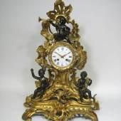 Louis-XVI-Prunk-Pendule des bedeutenden Pariser Uhrmachers Julien LeRoy (1686 – 1759)